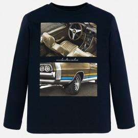 Koszulka z długim rękawem dla chłopaka Mayoral 7021-18