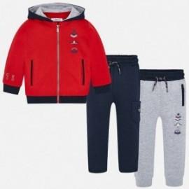 Dres bluza 2 pary spodni dresowych chłopięcy Mayoral 4810-58