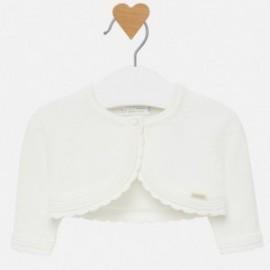 Sweter rozpinany krótki bolerko trykotowe dla dziewczynki Mayoral 307-39