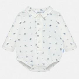 Body koszulowe dzianinowe z długim rękawem dla chłopca Mayoral 2732-83