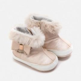 Buciki niemowlęce z futerkiem dla dziewczynki Mayoral 9220-43