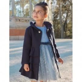 Sukienka tiulowa z brokatem elegancka dziewczęca Abel & Lula 5521-31 Błękitny