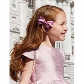 Spinka do włosów satynowa dziewczęca Abel & Lula 5920-62 bordowa