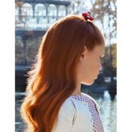 Spinka do włosów satynowa dziewczęca Abel & Lula 5920-63 czerwona