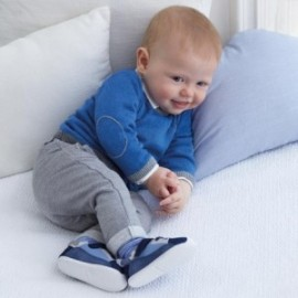 Spodnie długie z miękkiej bawełny dla chłopca Mayoral 2518-33 Szary