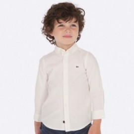 Koszula z długim rękawem sportowa dla chłopca Mayoral 142-14 Biały