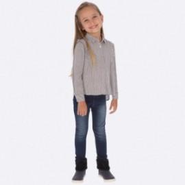 Spodnie jeans basic dziewczęce Mayoral 577-86 Basic