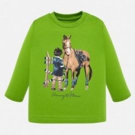 Koszulka z długim rękawem dla chłopca Mayoral 2025-94 Pistacjowy