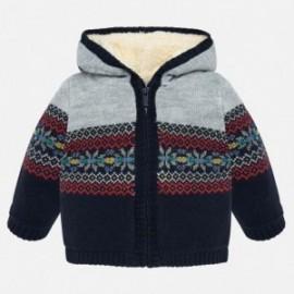 Ciepły sweter z kapturem dla chłopca Mayoral 2332-20 Kosmos