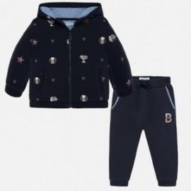 Dres bluza i spodnie bawełniane dla chłopca Mayoral 2843-81 Tintero