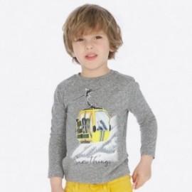 Koszulka z długim rękawem dla chłopca Mayoral 4019-72 Melanż