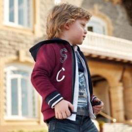 Bluza bawełniana sportowa z kapturem dla chłopca Mayoral 4455-19 Burak