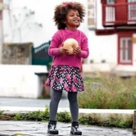 Spódnica żakardowa we wzory dla dziewczynki Mayoral 4905-50 Fuksja