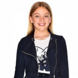 Koszulka z długim rękawem dla dziewczynki Mayoral 7006-10 Kremowy