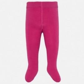 Rajstopy ciepłe bawełniane dla dziewczynki Mayoral 10628-38 Fuksja