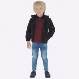 Spodnie z miękkiego jeansu chłopięce Mayoral 4512-53 Basic