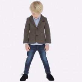 Spodnie jeansowe slim fit chłopięce Mayoral 4508-23 Ciemny