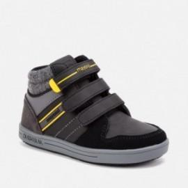 Buty przejściowe na trzy rzepy dla chłopaka Mayoral 44097-53 Czarny