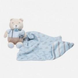 Przytulanka dla niemowlaka unisex Mayoral 9036-63 Błękitny