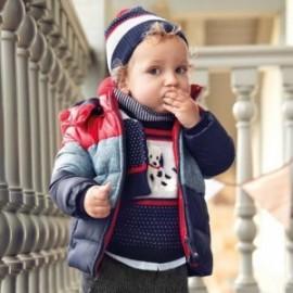 Kurtka zimowa z kapturem dla chłopca Mayoral 2451-97 Czerwony