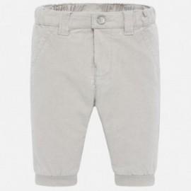 Spodnie długie ze sztruksu chłopięce Mayoral 591-70 Gray