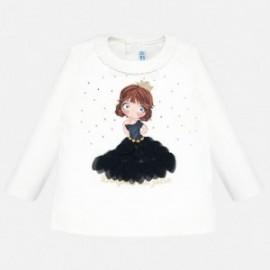 Koszulka z długim rękawem dla dziewczynki Mayoral 2011-65 Granatowy