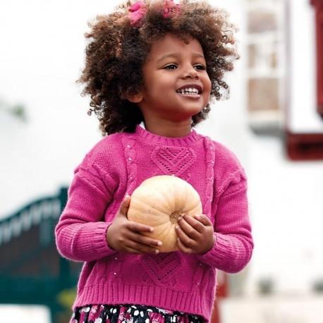 Sweter dla dziewczynki Mayoral 4302-11 Fuksja