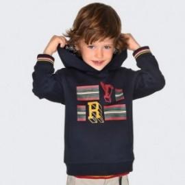 Bluza kangurka z kapturem dla chłopca Mayoral 4430-47 Tytan