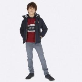 Spodnie z miękkiego jeansu dla chłopca Mayoral 7515-84 Stal