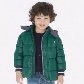 Kurtka na zimę z odpinanym kapturem dla chłopca Mayoral 4442-69 Cyprys