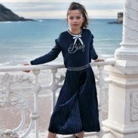 Koszulka z długim rękawem dla dziewczynki Mayoral 7007-93 Kremowy