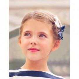 Zestaw dwóch spinek dla dziewczynki Abel & Lula 5414-7 Biały/granat