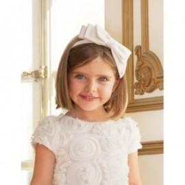 Opaska z kokarką dla dziewczynki Abel & Lula 5422-19 Biały