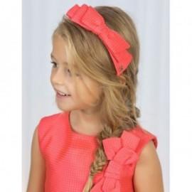 Opaska z kokarką dla dziewczynki Abel & Lula 5424-7 Arbuzowy