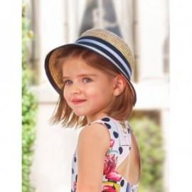 Kapelusz z tasiemką dla dziewczynki Abel & Lula 5446-3 Granat