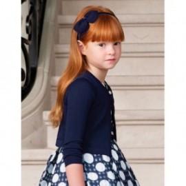 Sweterek trykotowy dla dziewczynki Abel & Lula 5305-32 Granat