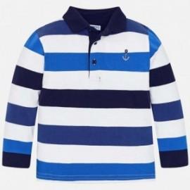 Mayoral 3124-22 Koszulka polo chłopięca niebieska