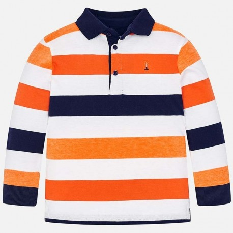 Mayoral 3124-23 Koszulka polo chłopięca pomarańczowa