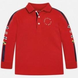 Mayoral 3125-11 Polo chłopięce czerwone