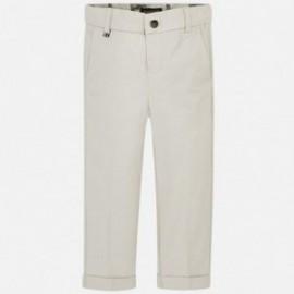 Mayoral 3514-71 Spodnie chłopięce lniane szare