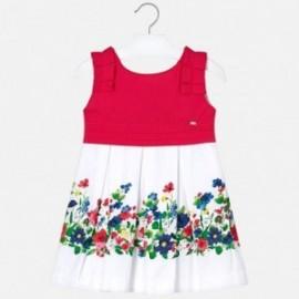Mayoral 3935-97 Sukienka dziewczęca czerwona