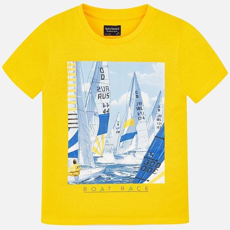 Mayoral 6032-55 Koszulka k/r chłopięca Żółta