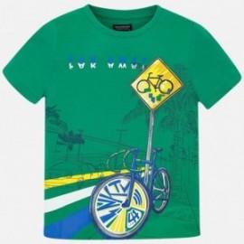 Mayoral 6043-84 Koszulka chłopięca zielona