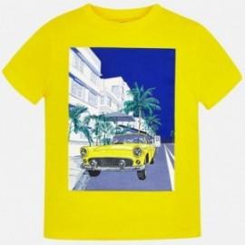 Mayoral 6046-78 Koszulka chłopięca żółta