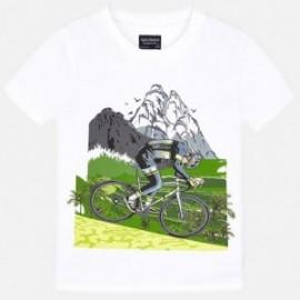 Mayoral 6050-37 Koszulka chłopięca biała