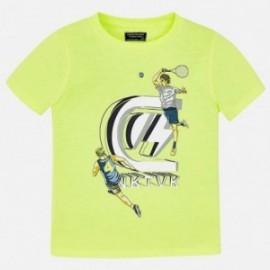 Mayoral 6051-76 Koszulka chłopięca limonka