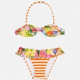 Mayoral 6711-87 Bikini z nadrukiem dziecięce Pomarańcz