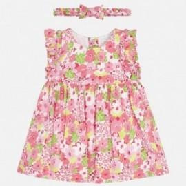 Mayoral 1839-49 Sukienka dziewczęca różowa