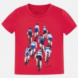 Mayoral 3028-66 Koszulka k/r chłopięca Czerwony