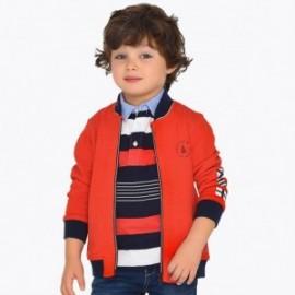 Mayoral 3426-94 Bluza chłopięca bez kaptura kolor czerwony
